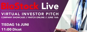 Dicot presenterar på BioStock Live idag 16 juni